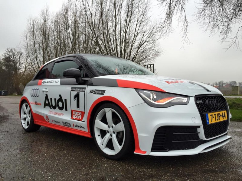 Gas erop! Custom wrap Audi A1