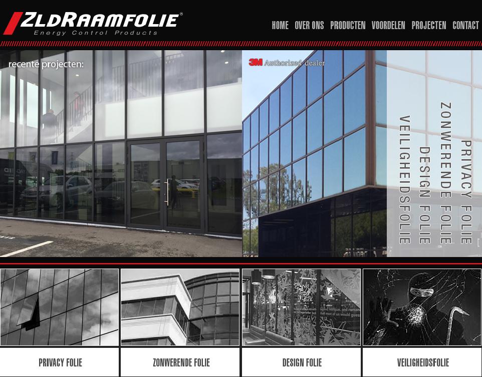 ZLDraamfolie nieuwe website online