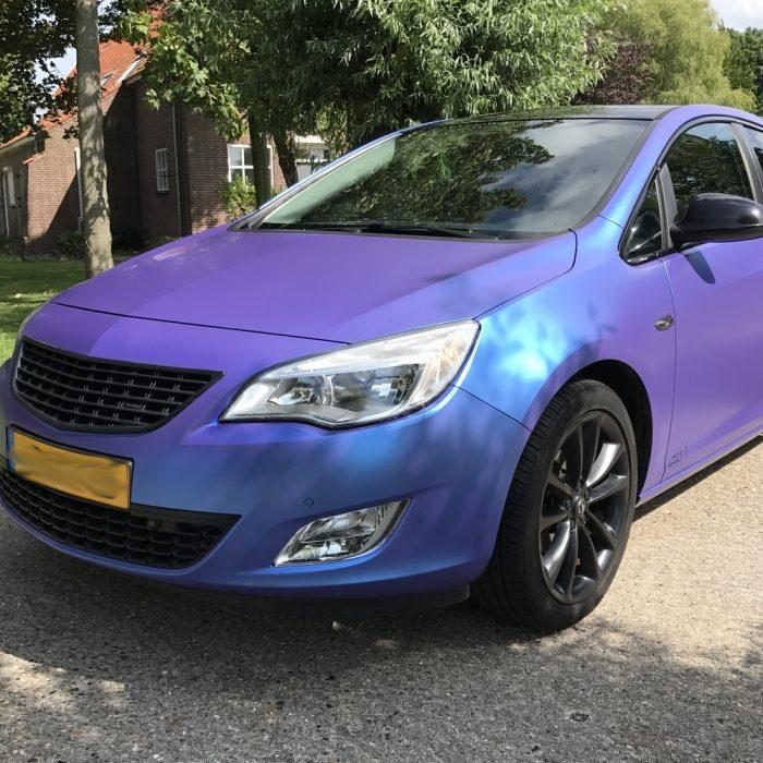 Opel Astra – Satin Flip Glacial Frost