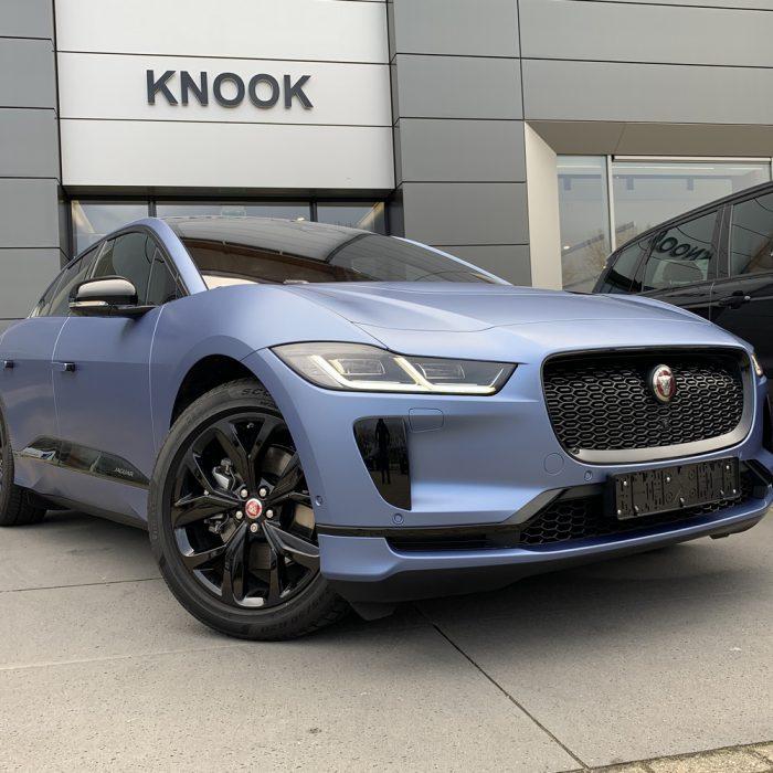 Jaguar I-Pace – Satin Ice Blue Metallic