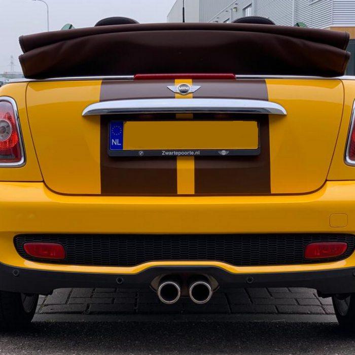 Mini Cabrio Cooper; Gloss Sunflower