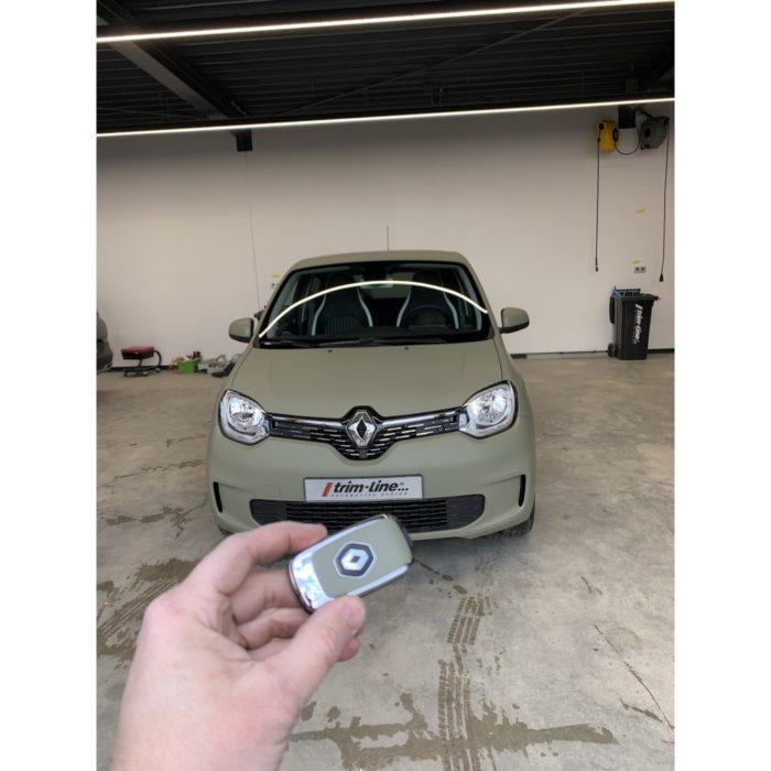 Renault Twingo – Matte Khaki Green