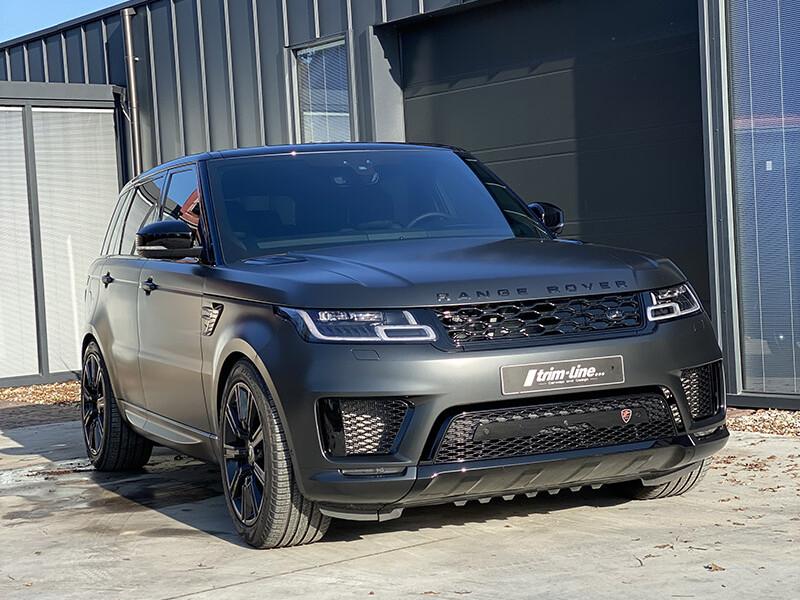 carwrap range rover sport