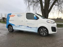 auto belettering Citroën Jumpy