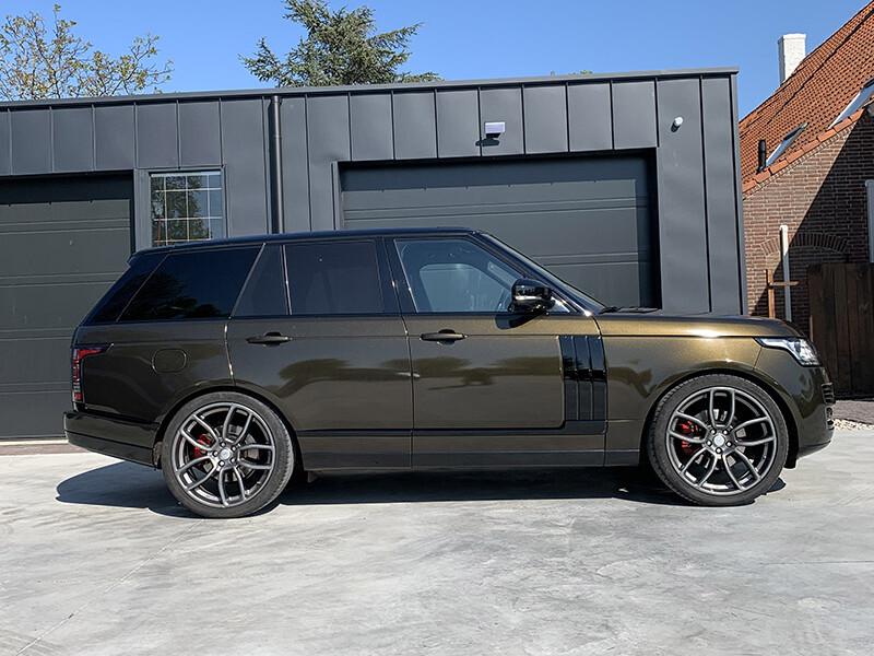 carwrap Range Rover