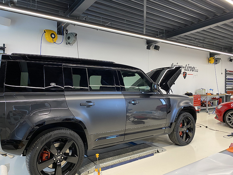 paint protection film land rover defender