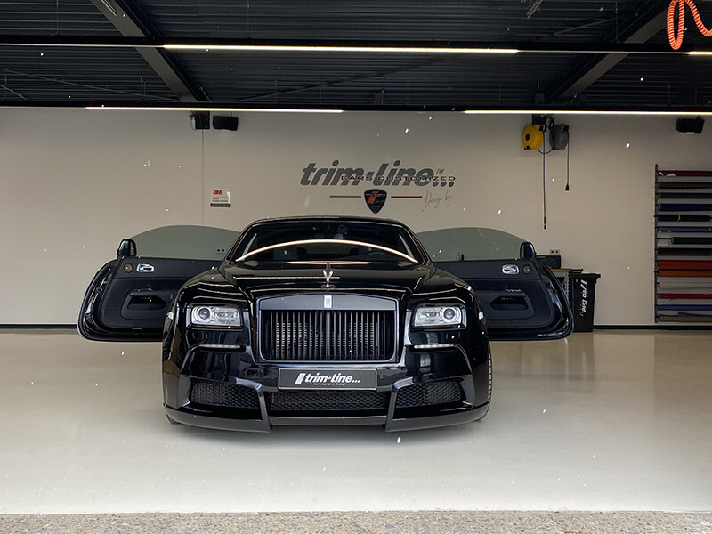 Paint Protection Film Rolls Royce Wraith