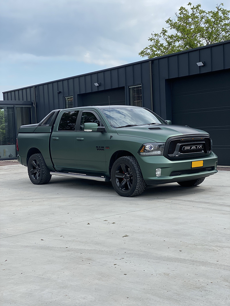 Dodge RAM carwrap 3M