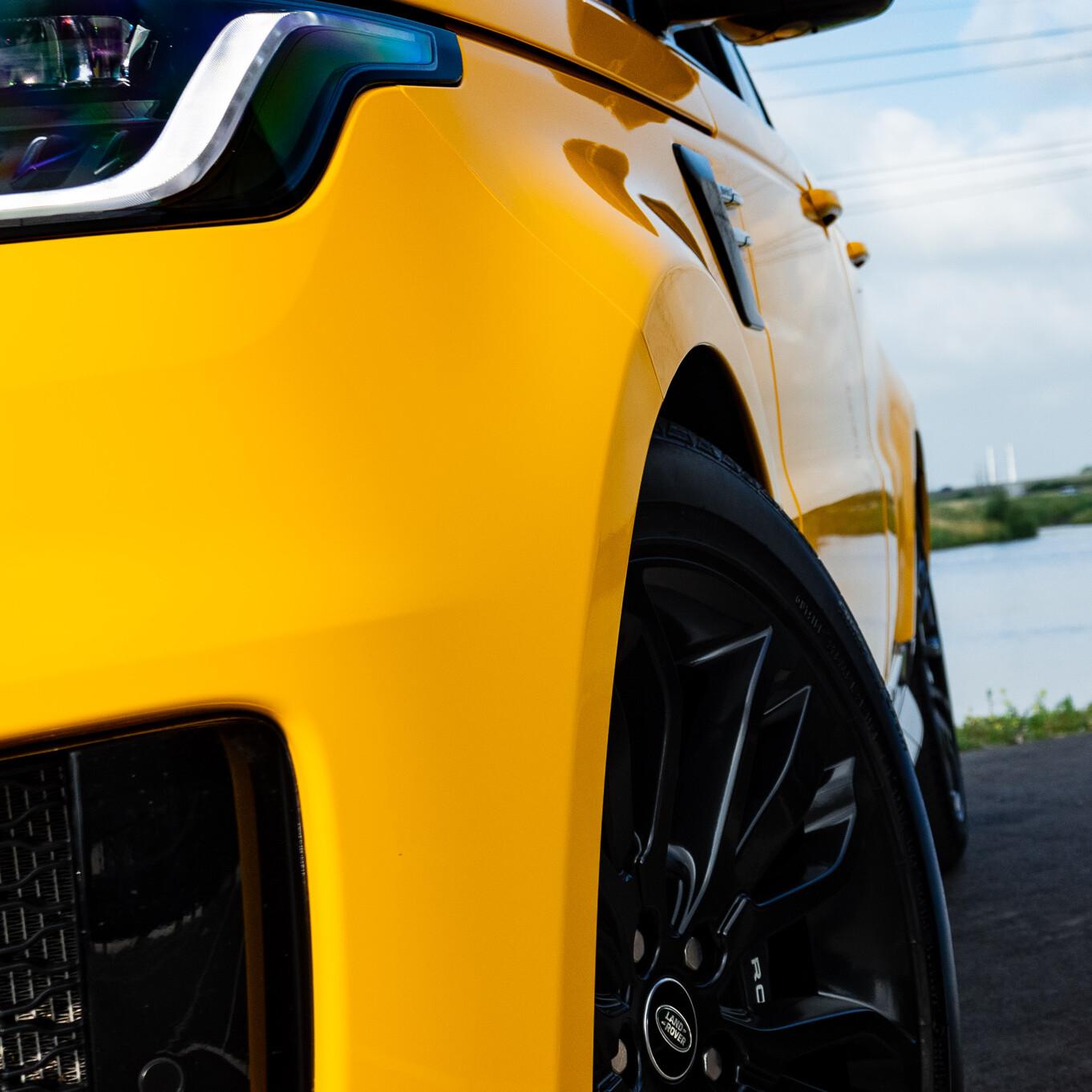 range rover sport sunflower yellow
